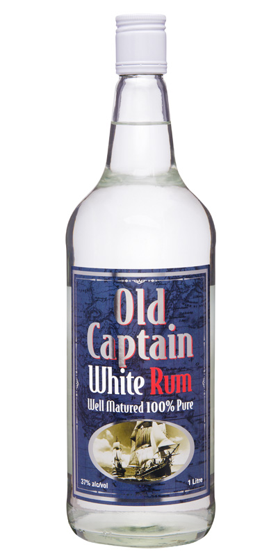 Old Captain White Rum