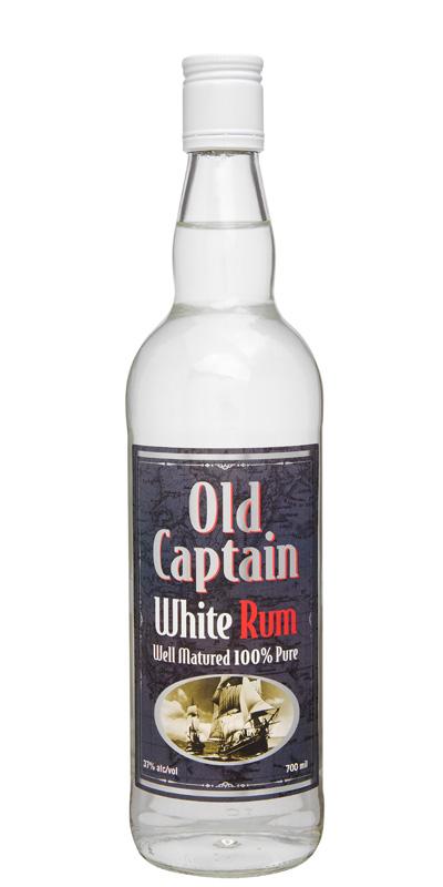 Old Captain White Rum 700ml
