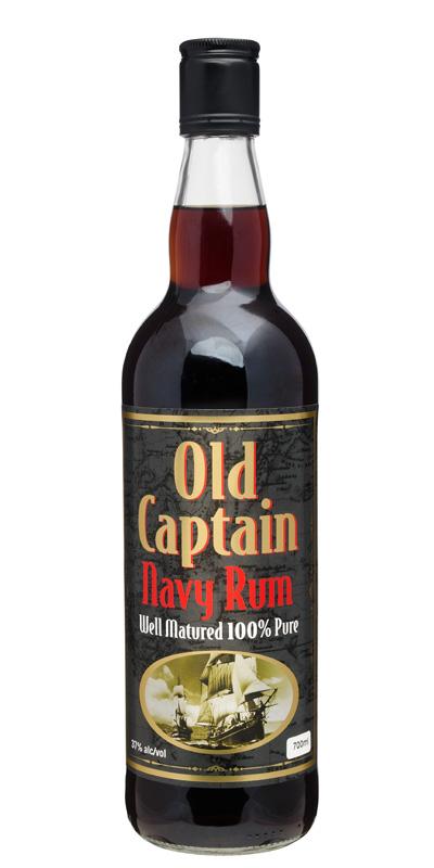 Old Captain Navy Rum 700ml