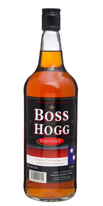 Boss Hogg Bourbon 14%