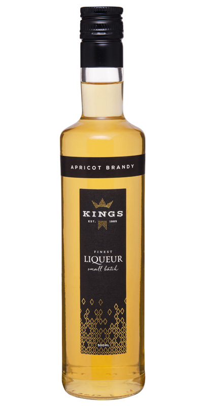 Kings Liqueur Apricot Brandy 500ml