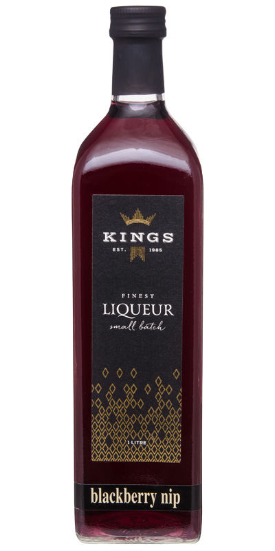 Kings Liqueur Blackberry Nip 1lt