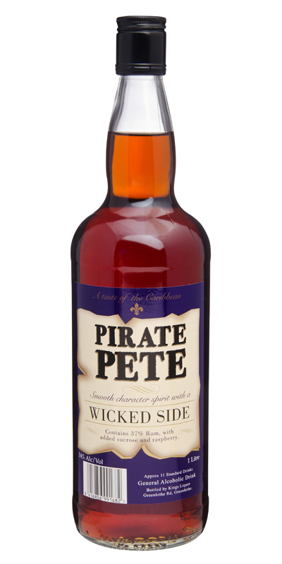 Pirate Pete 14% Rum