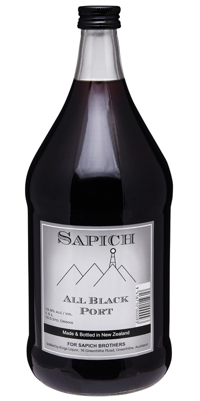 Sapich All Black Port 1500ml