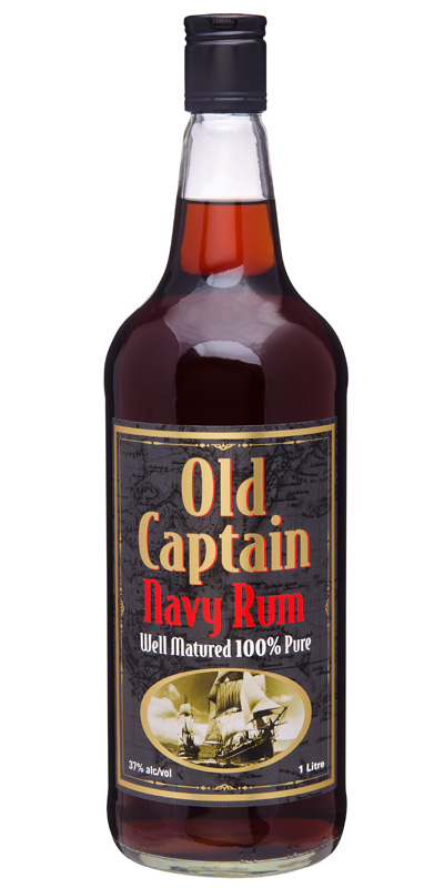 Old Captain Navy Rum 1L