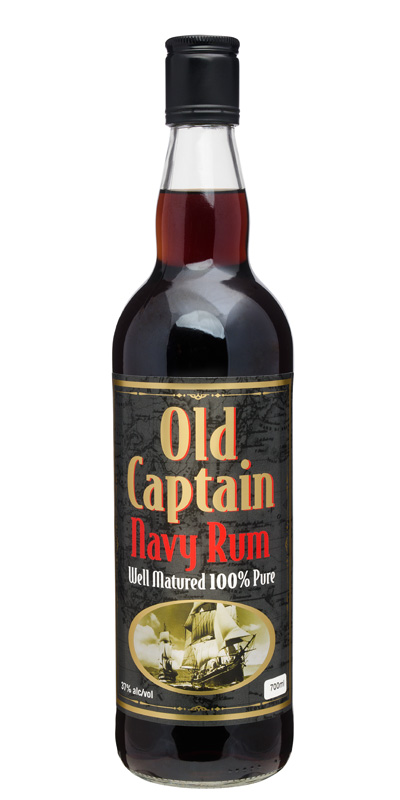 Old Captain Navy Rum 700ml